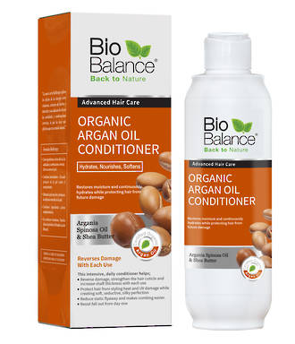 BioBalace Organic Argan Oil Conditioner - 330ml