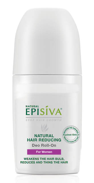Episiva Hair Reducing Antiperspirant Deodrant Roll On