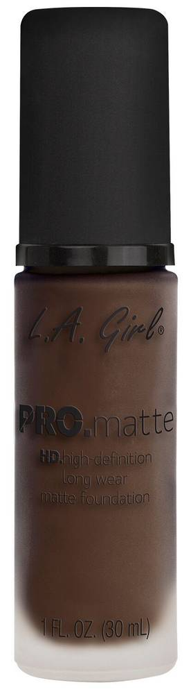 LA Girl Pro Matte Foundation - Ebony