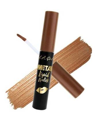 LA Girl Metal Liquid Lipstick - Satin Gold