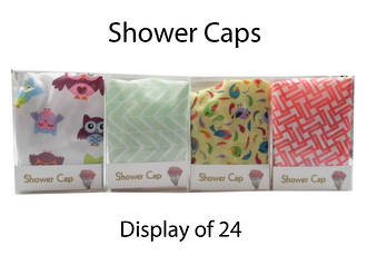 Shower Caps Display