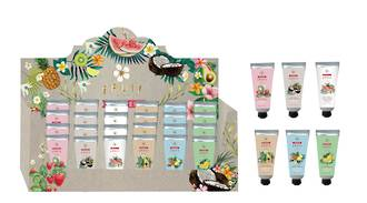 Hand and Nail Cream Display - 18pcs