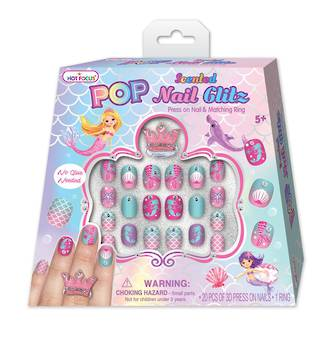 Pop Nail Glitz Set Mermaid