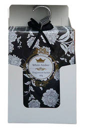 Wardrobe Sachet 60g White Amber Display