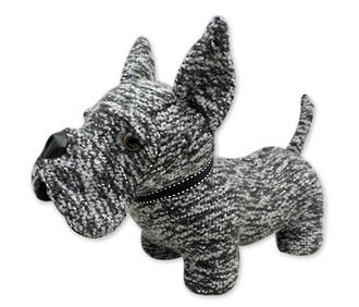 Door Stop - Dark Grey Dog