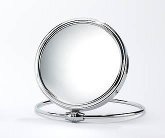Shaving Mirror Silver 5x