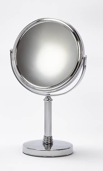 Mirror Pedestal Chrome 10x