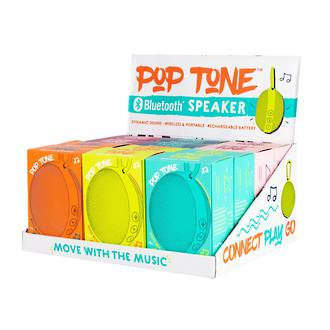 Pop Tone Bluetooth Speaker Display - 12pcs