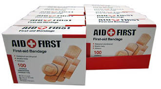 First Aid Plasters Mixed Sizes