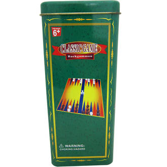 Game in Tin - Backgammon