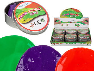 Colour Changin Putty in Tin Display - 12pcs