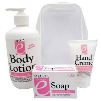 Vitamin E Set - Lotion/Hand Creme/Soap