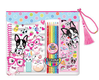 Color-Me Notebook Set - Pets