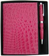 Croc style Notebook with Pen Set