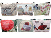 Boutique Cosmetic Bags Assorted