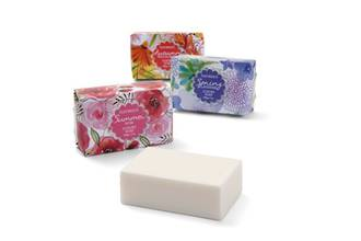 Fleurique Soap Wrap 200g - Summer Rose