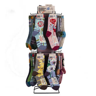 Women's Sock Counter Display - 72pcs