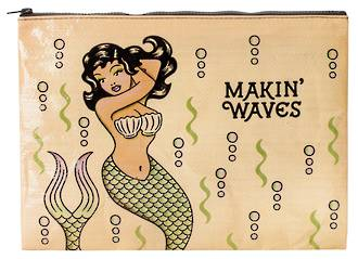 Jumbo Zipper Pouch - Makin' Waves