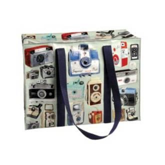 Shoulder Tote Bag - Cameras