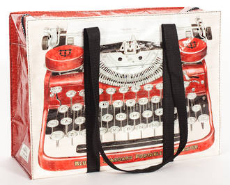 Shoulder Tote Bag - Typewriter