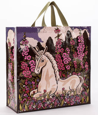 Blue Q Shopper - Unicorn