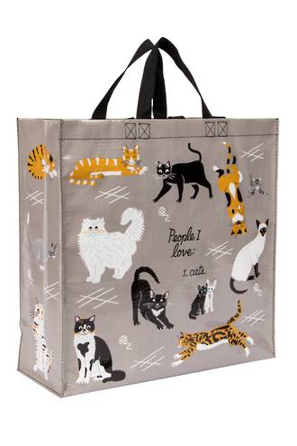 Blue Q Shopper - People I Love: Cats