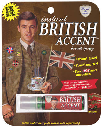 Blue Q Breath Spray - British Accent