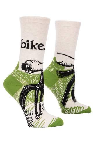 Blue Q Socks - Bike Path