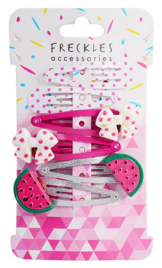Kids Going Dotty Clips 6pk