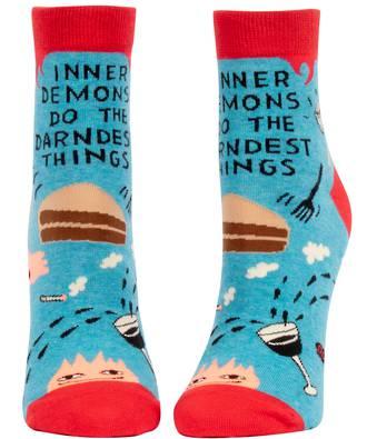 Blue Q Ankle Socks - Inner Demons