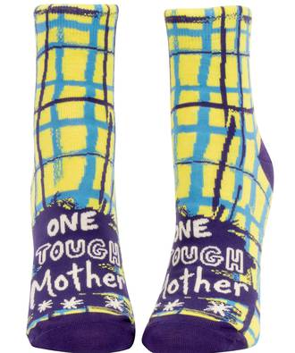 Blue Q Ankle Socks - One Tough Mother