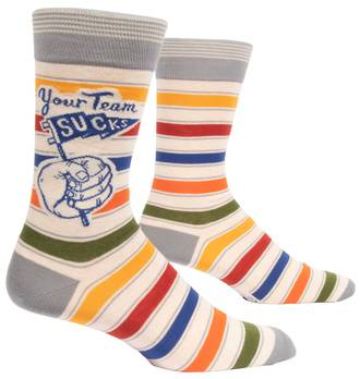 Blue Q Men's Socks - Your Team Sucks