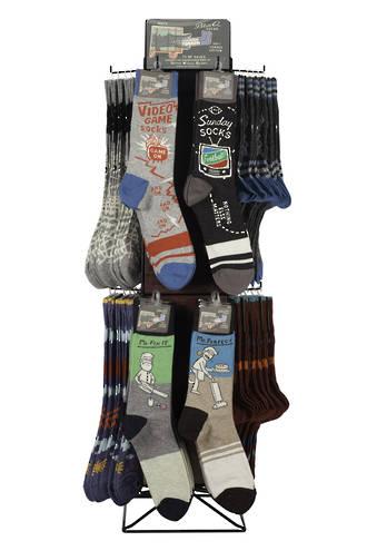 Men's Sock Counter Display - 72pcs