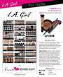 LA Girl 3ft Floor Display *NEW