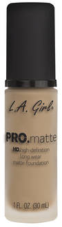 LA Girl Pro Matte Foundation - Bisque