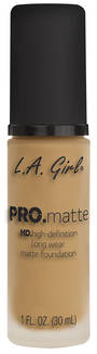 LA Girl Pro Matte Foundation - Natural