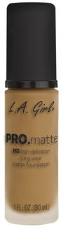 LA Girl Pro Matte Foundation - Sand