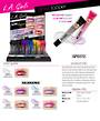 LA Girl Holographic Gloss Topper Display - 36pcs