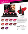 LA Girl Lip Attraction Lipstick Display - 50pcs