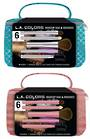 L.A. Colors Holiday Set - Makeup Bag + Brush Set 4pcs