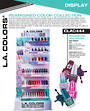 LA Colors Reimagined Color Polish Collection - 162pcs