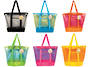 Sunlily Sunshine Large 2-Tone Mesh Tote Bag - Display 24pcs