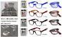 Folding Reading Glasses In Case Display - 24pcs