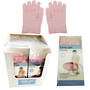 Moisturising Gel Gloves Pink - Display