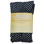 Rectangle Heat Pack - Navy Polka Dot