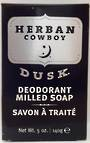 Herban Cowboy Milled Soap - 140g