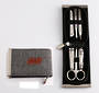 Melric Manicure Set Metal Frame - 6pcs