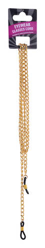 Eyewear Glasses Cord - Gold Chain