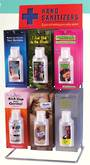 Blue Q Hand Sanitizer Counter Display Stand - 36pcs