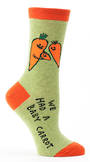 Blue Q Socks - Baby Carrot